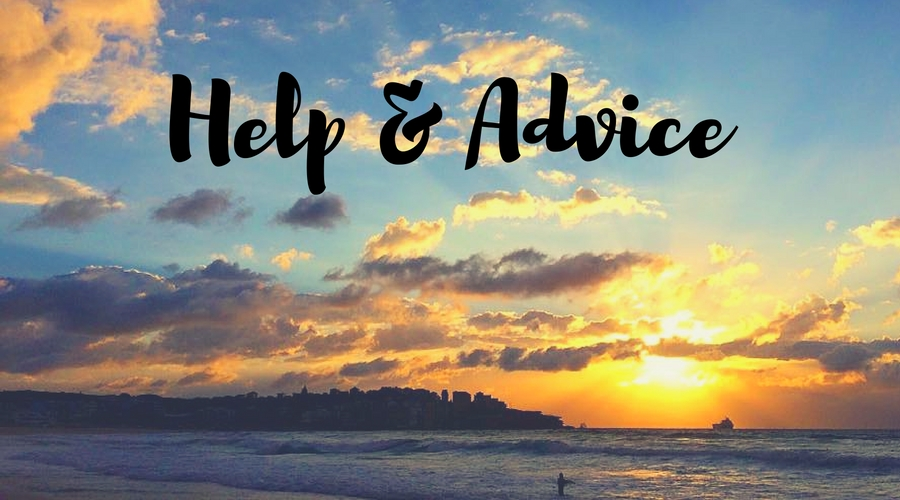 Help & Advice - website